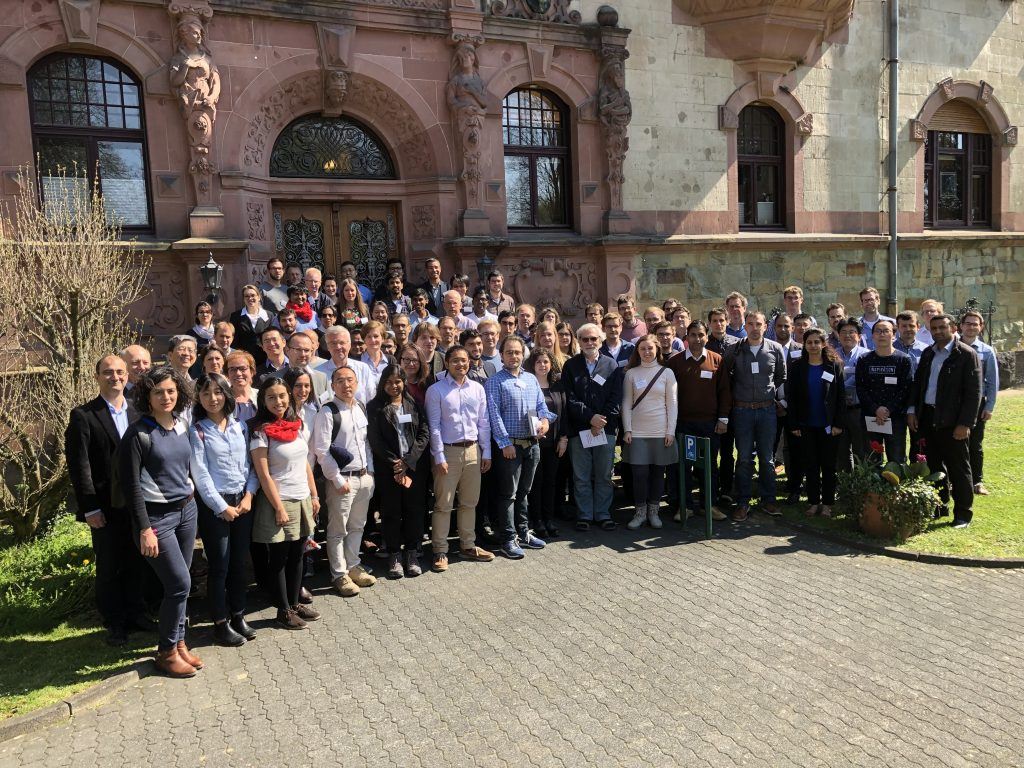 Group picture taken during the 2019 Heraeus seminar